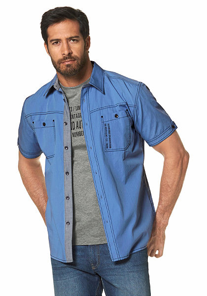Arizona rövidujjú ing (szett, 2részes, pólóval)