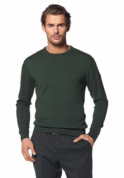 Class International kerek nyakú pulóver