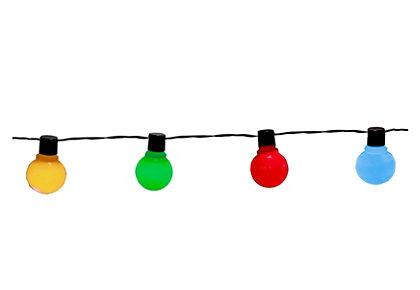 Svetelná reťaz s LED (16 žiaroviek)