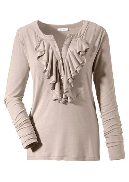 Aniston Tričko s dlhým rukávom