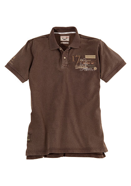 Pánske krojové tričko vo vyšúchanom vzhľade, Stockerpoint