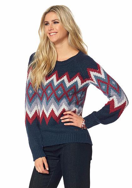 Arizona norvégmintás pulóver