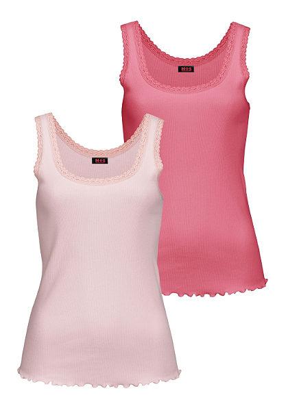 H.I.S trikó(2db) elasztikus bordás minőségben