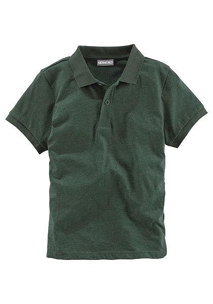 kidsworld galléros póló, fiúknak