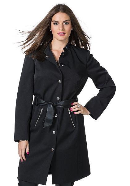 sheego Trend bélelt kabát