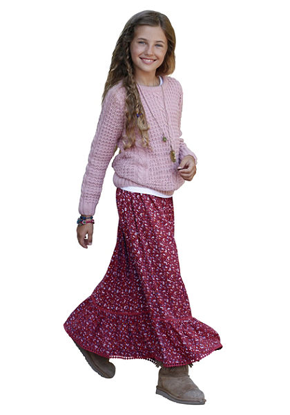 Dlouhá sukně, pro dívky