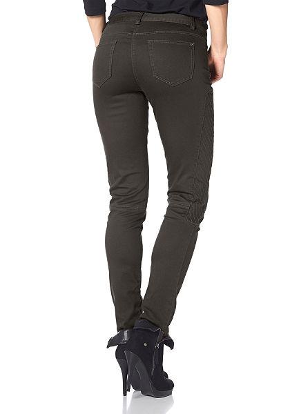 Aniston egyenes szárú nadrág, alacsony derékmagassággal  »steppelt betét a lábrészen«