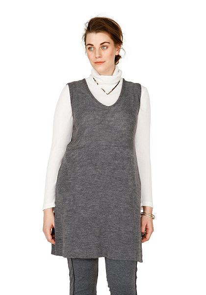 sheego Trend hosszú ujjatlan pulóver