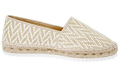 Espadrilles cipő extravagáns nyomott mintával