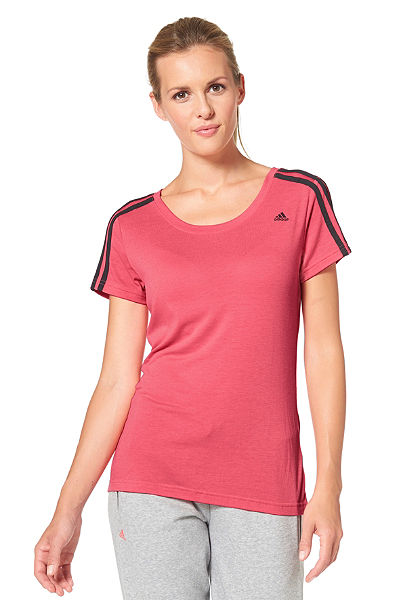 adidas Performance ESSENTIALS 3S SLIM TEE Tričko