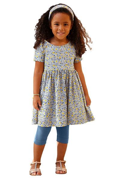 Kidoki ruha, legging& hajpánt(3 részes), lányoknak
