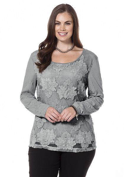 sheego Style gyűrt póló