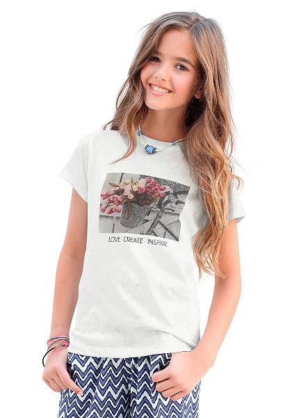 Arizona nyomott mintás póló, lányoknak