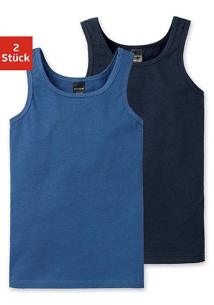 Schiesser trikó fiúknak (2 db), egyszerűen praktikus a minden napokban