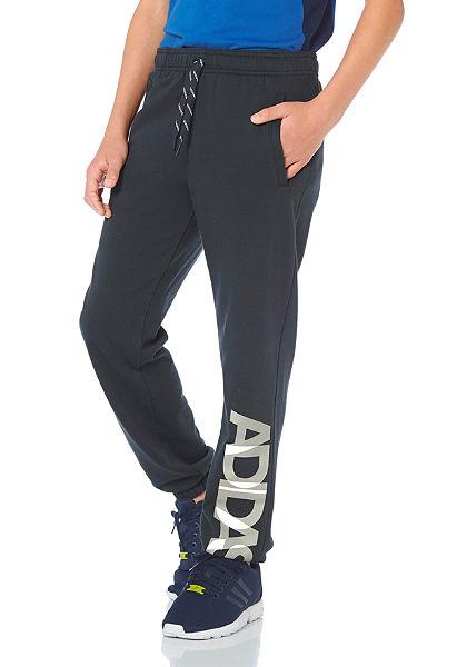 adidas Performance LOCKER ROOM BRAND SWEAT PANT melegítőnadrág