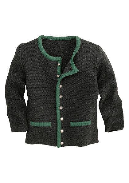 Krojový detský sveter so zapínaním na gombík