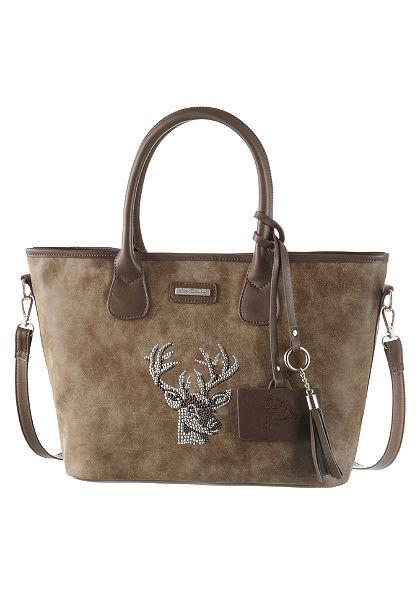 Lady Edelweiss népviseleti táska szarvas motivummal