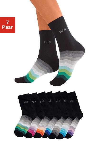 H.I.S zokni (7 pár)