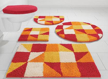 Fürdőszobaszönyeg, my home Selection, »Denise«, magasság 20mm, mikroszálas,csúszásgátló hátoldal