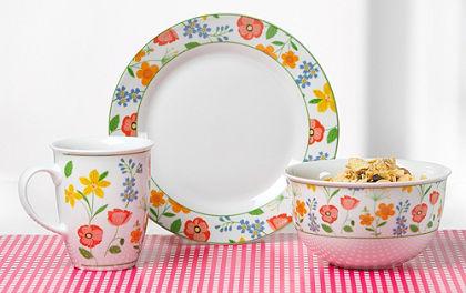 Flirt by R&B »Fiorella« porcelán reggeliző szett