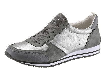 Esprit műbőr szabadidőcipő csillogó hatással