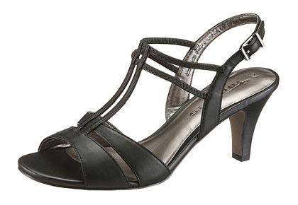 Tamaris Sandále s jemnými pásikmi