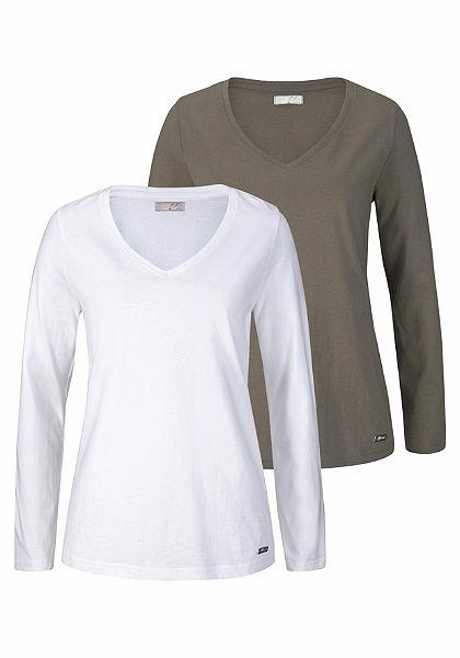 Cheer Hosszú ujjú póló (csomag,2 részes, 2db-os csomag)