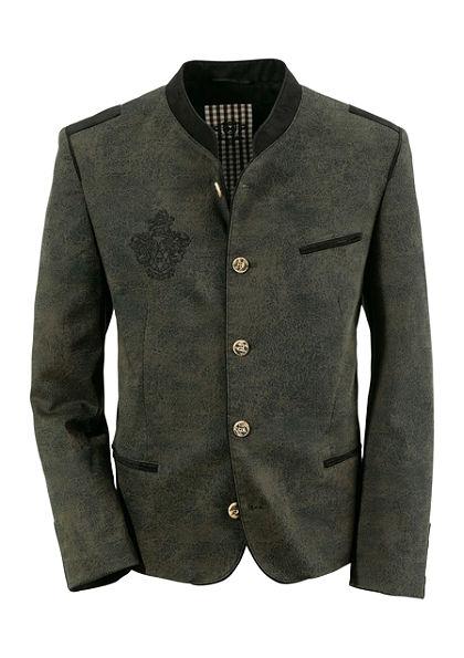 OS-Trachten Krojové sako s výšivkou