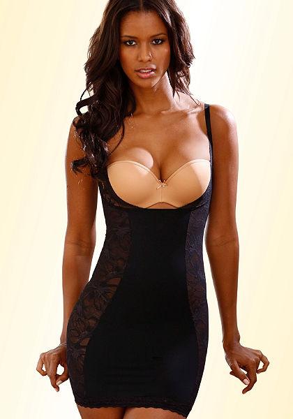 Triumph alakformáló ruha »Magic Boost Bodydress 01« elegáns csipkéből
