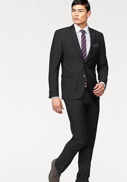 Bruno Banani öltöny (szett, 4 részes, nyakkendővel és díszzsebkendővel)