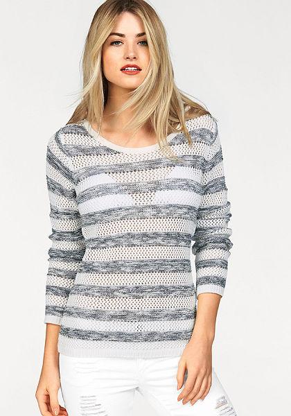 AJC Azsúrmintás pulóver »csíkos«