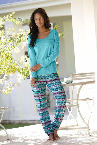 Pyžamové dlouhé kalhoty