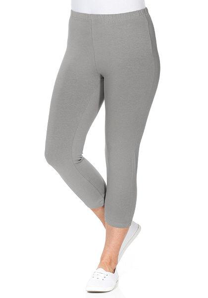 sheego Casual BASIC capri leggings