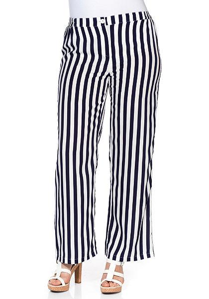 sheego Trend bőszárú nadrág