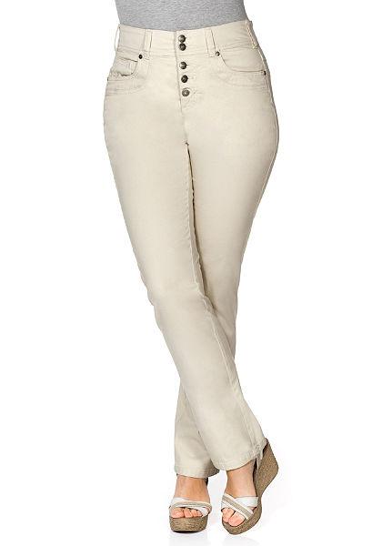 sheego Casual egyenes szárú nadrág