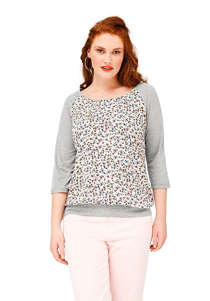 sheego Trend hosszú ujjú póló