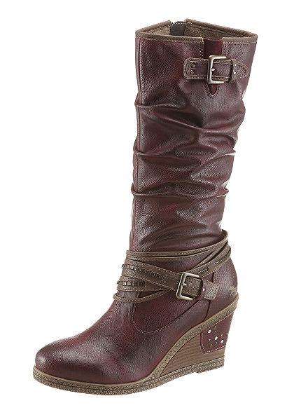 Mustang Shoes éktalpú csizma
