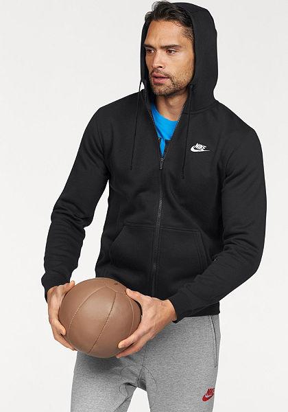 Nike Sportswear »NSW HOODIE FULLZIP FLEECE CLUB« kapucnis dzseki