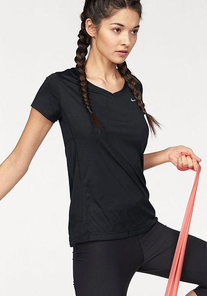 Nike Bežecké tričko »MILER V-NECK«
