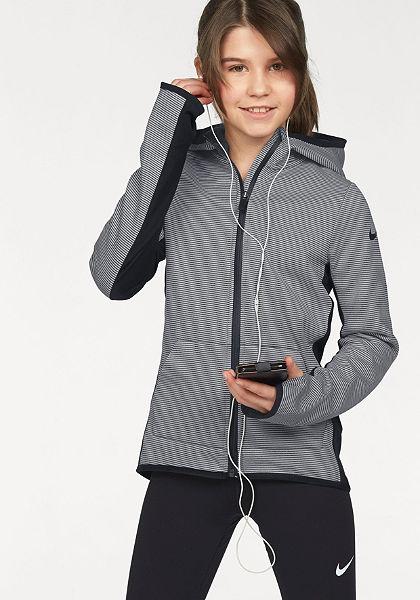 Nike funkcionális dzseki »THERMA HOODIE FULLZIP AT TECH«