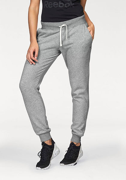 Reebok  »Elements Fleece Cuffed Pant« tréning nadrág