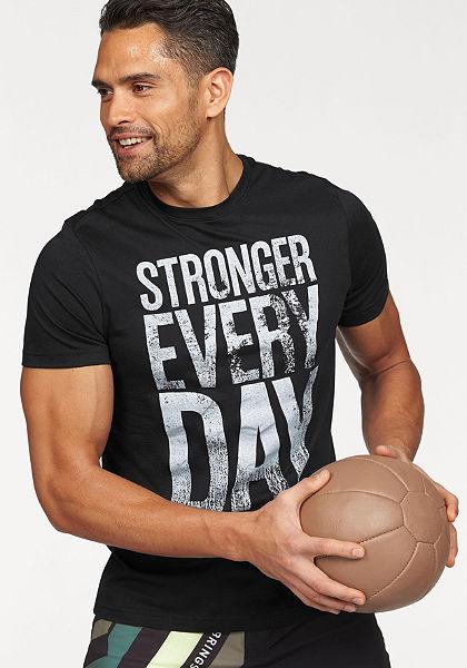 Reebok  »Stronger Everyday Graphic Tee« póló
