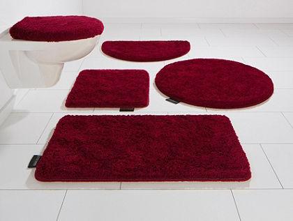 Kúpeľňová predložka, polkruh, Bruno Banani, »Lana«, výška 25 mm, protišmyková úprava