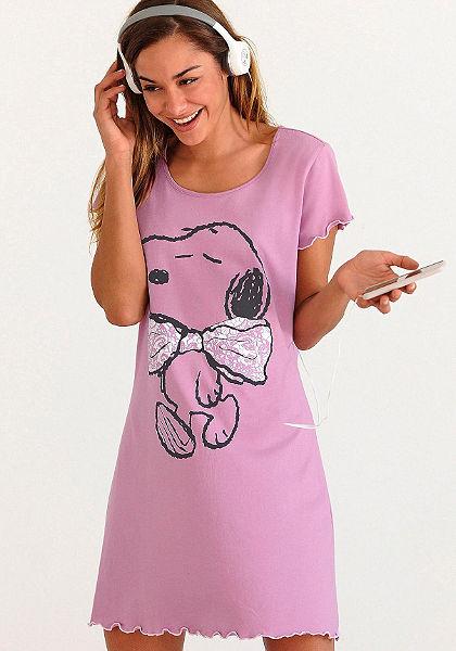 Nočná košeľa, Peanuts