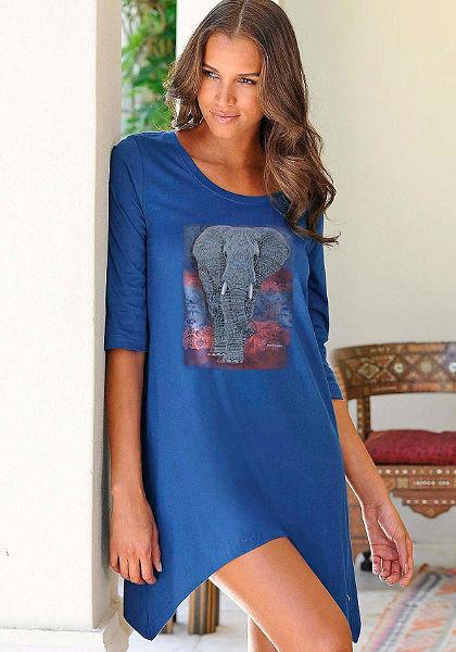 Marie Claire Noční košile s exotickou potiskem
