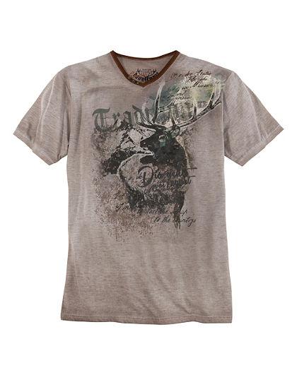 Pánske krojové tričko s potlačou, Marjo