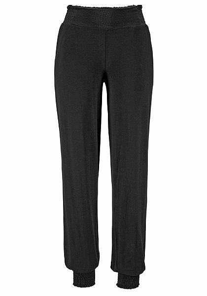 Lascana Plážové kalhoty v 2 potištěných designech