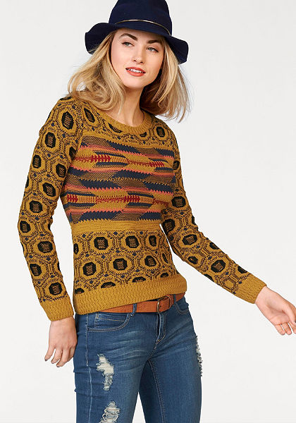 AJC jacquard pulóver