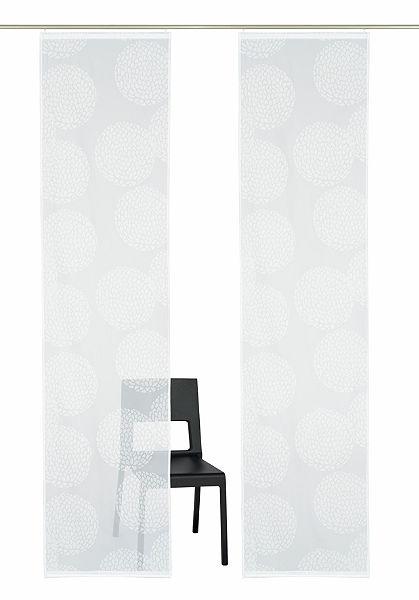 Panelový závěs, my home »Belem« (2 ks s příslušenstvím)