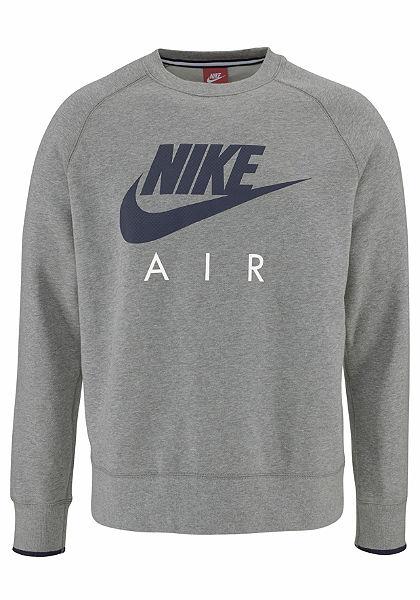 Nike NIKE AW77 FLEECE CREW-AIR HERITAGE szabadidőfelső